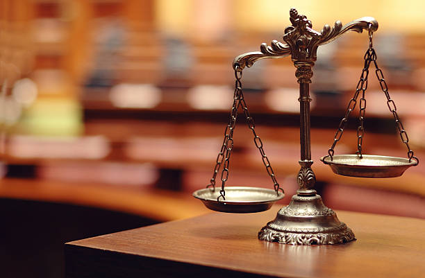 decorative scales of justice - scale stock photos and pictures
