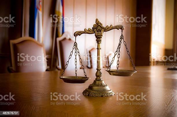 Dekorative Waage Der Gerechtigkeit Stockfoto und mehr Bilder von Alt