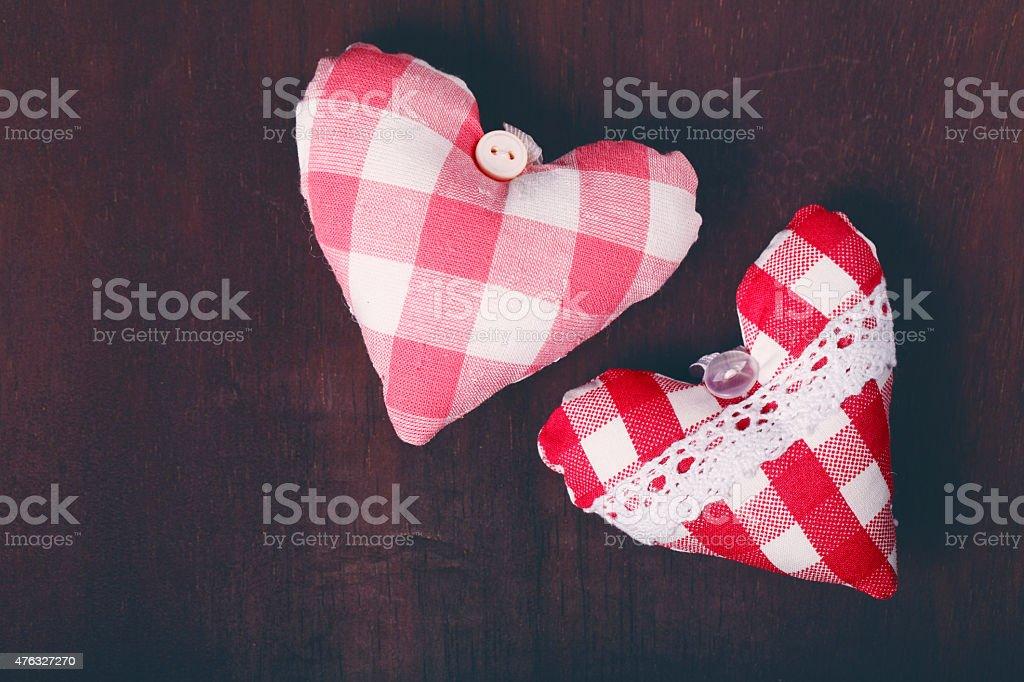 Decorativo souvenir en forma de corazón - foto de stock