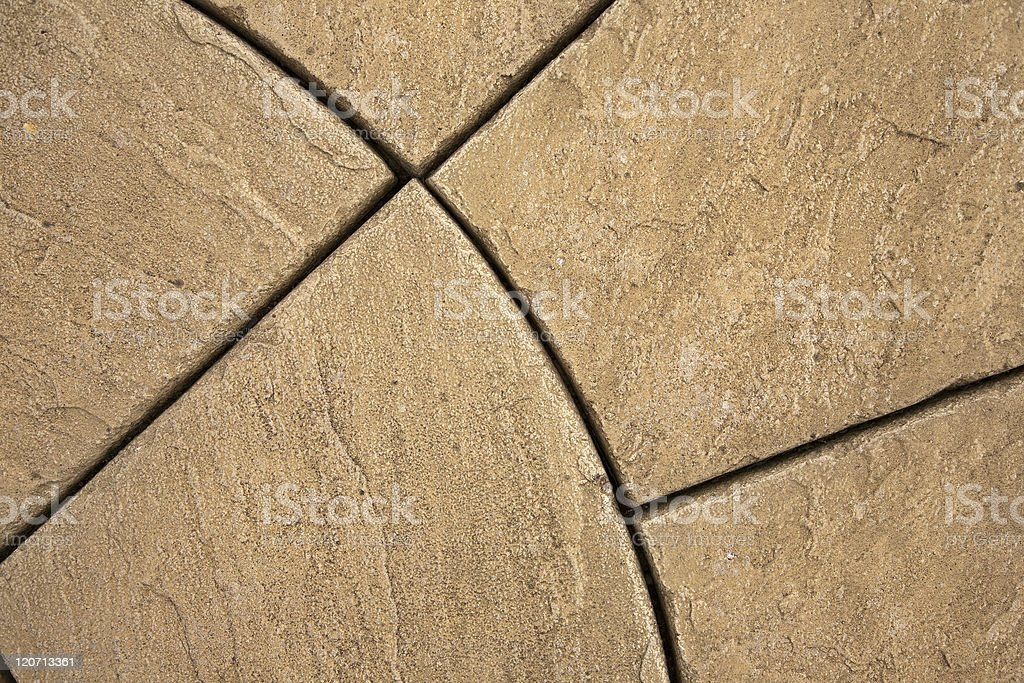 Decorative Stone paving royalty-free stock photo