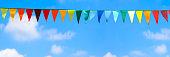 decorative summer background panorama