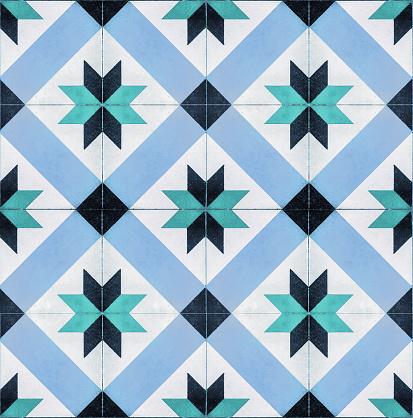 istock Decorative tegel tiles seamless texture 1045732316