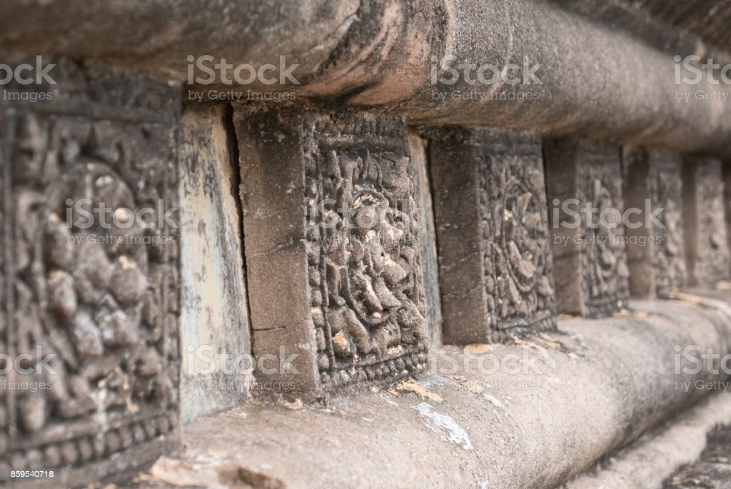 Decorative Tiles, Shwegugyi Temple, Bagan, Myanmar (Burma) stock photo