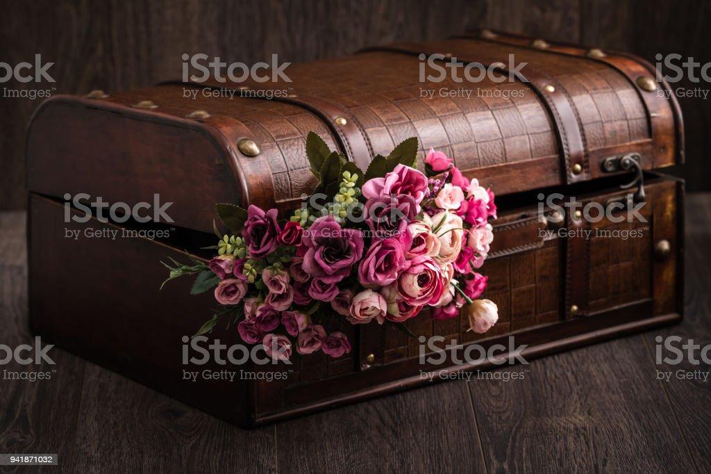 Decorative Trunk Treasure Chest Storage Box Stock Photo Download Image Now Istock