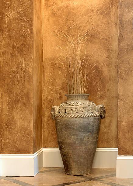 Decorative Vase In Alcove stock photo