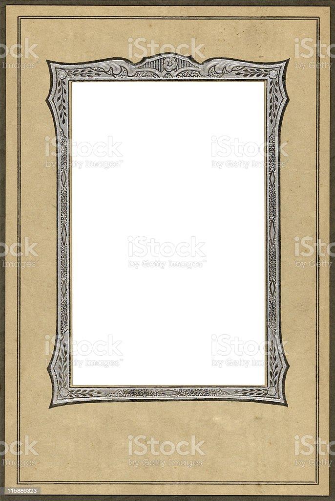 decorative vintage frame royalty-free stock photo