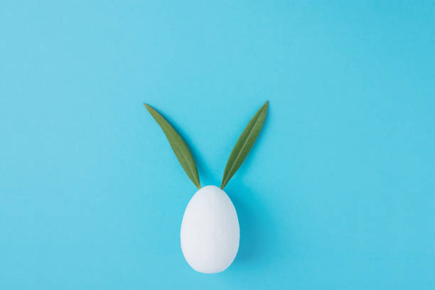 Decorative white painted blank easter egg bunny with green leaves as picture id914867598?b=1&k=6&m=914867598&s=612x612&w=0&h=mc5pfpf4pidmwtdldr 08x7gmv h7czxh ndhrive1o=