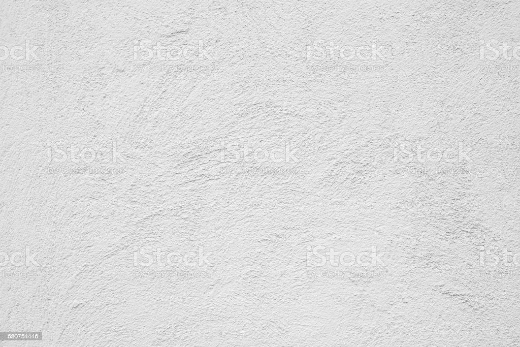 Decorative White Stucco Wall Texture stock photo