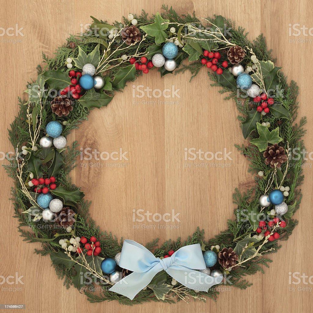 Decorative Wreath royalty-free stock photo