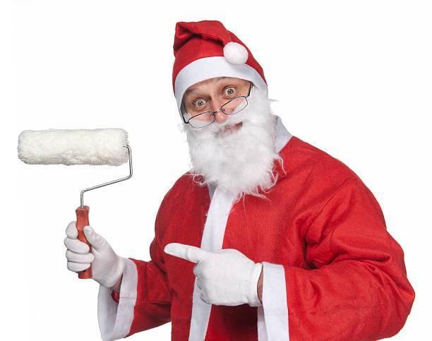 Dekorateur Santa Claus – Foto