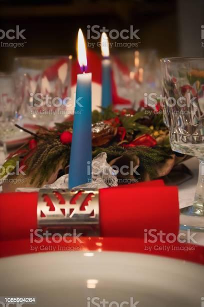 Decorazione Tavola Di Natale Stock Photo Download Image Now Istock