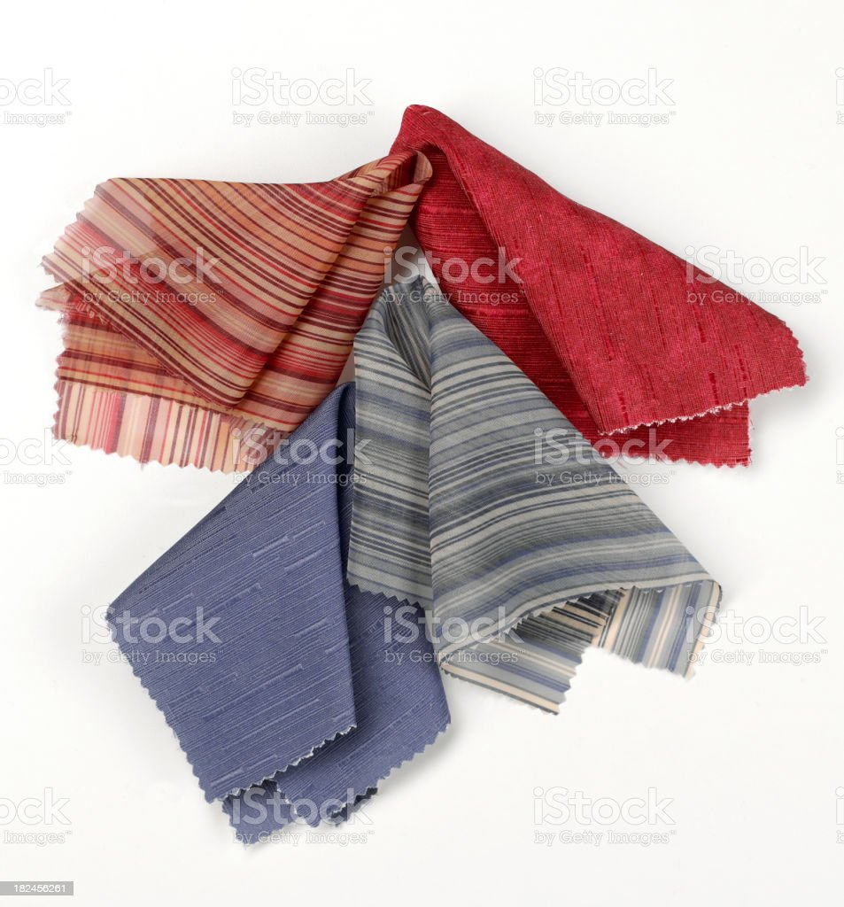 Decor-Fabric Swatch A royalty-free stock photo