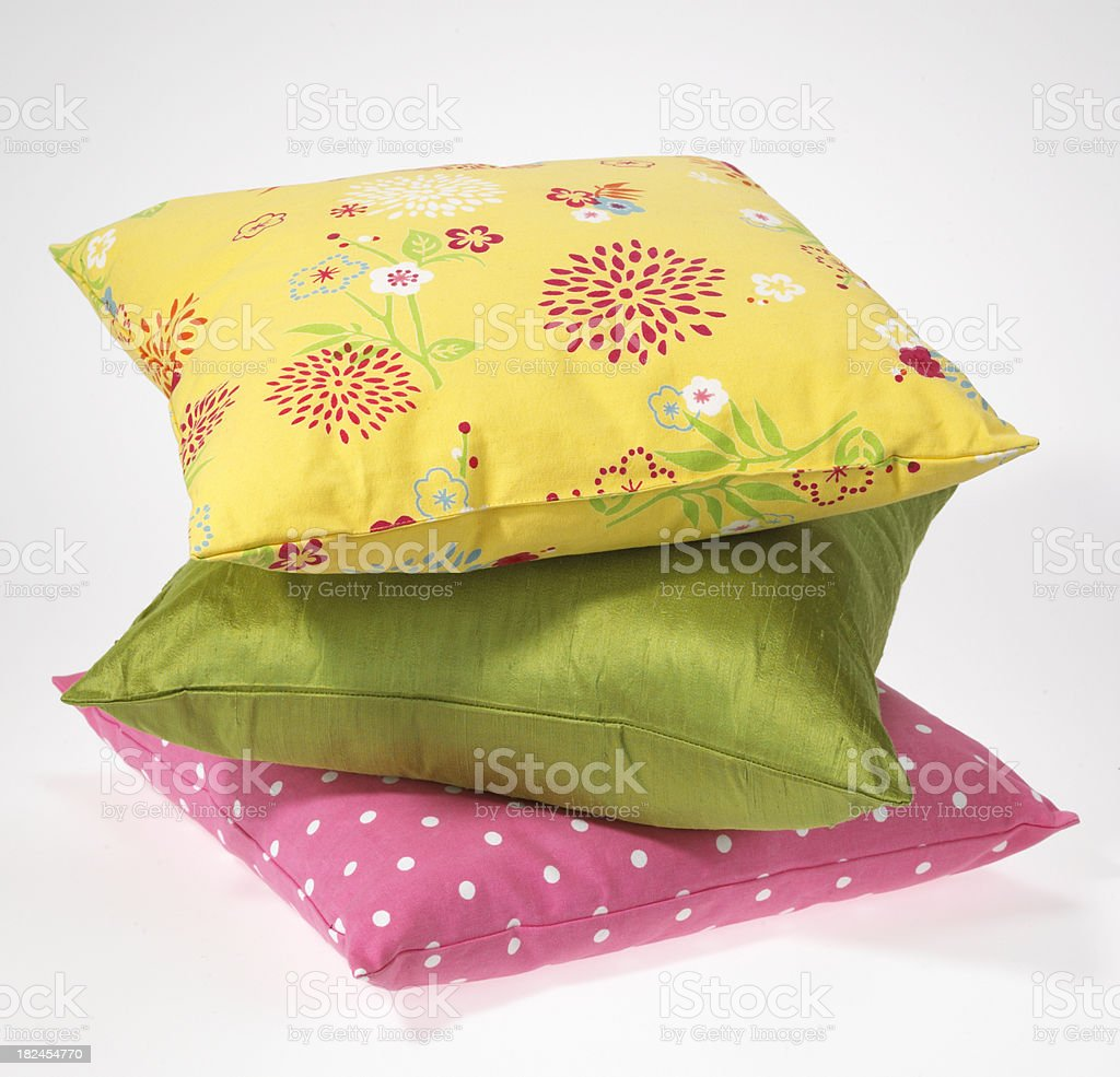 Decor-Pillows royalty-free stock photo