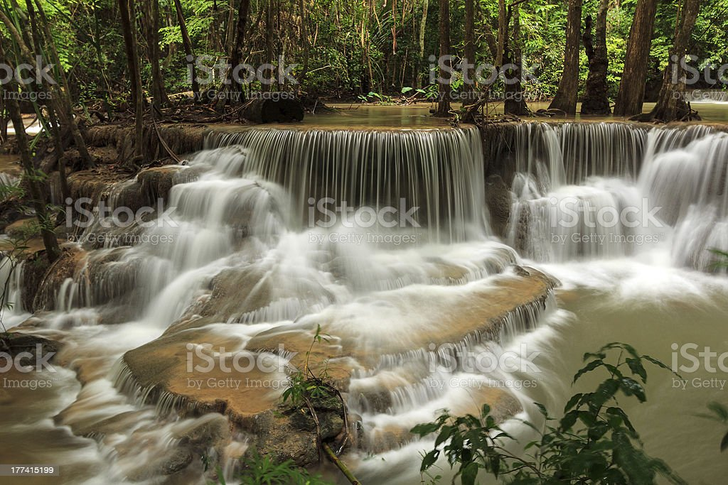 Dedicase waterfall royalty-free stock photo