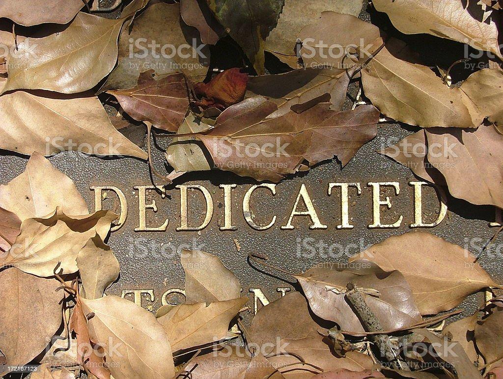 Dedicated: leaf frame royalty-free stock photo