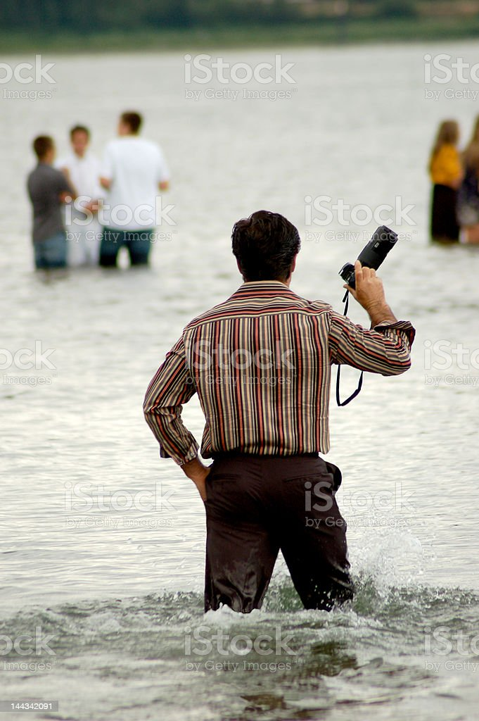 Dedicated Photographer stock photo