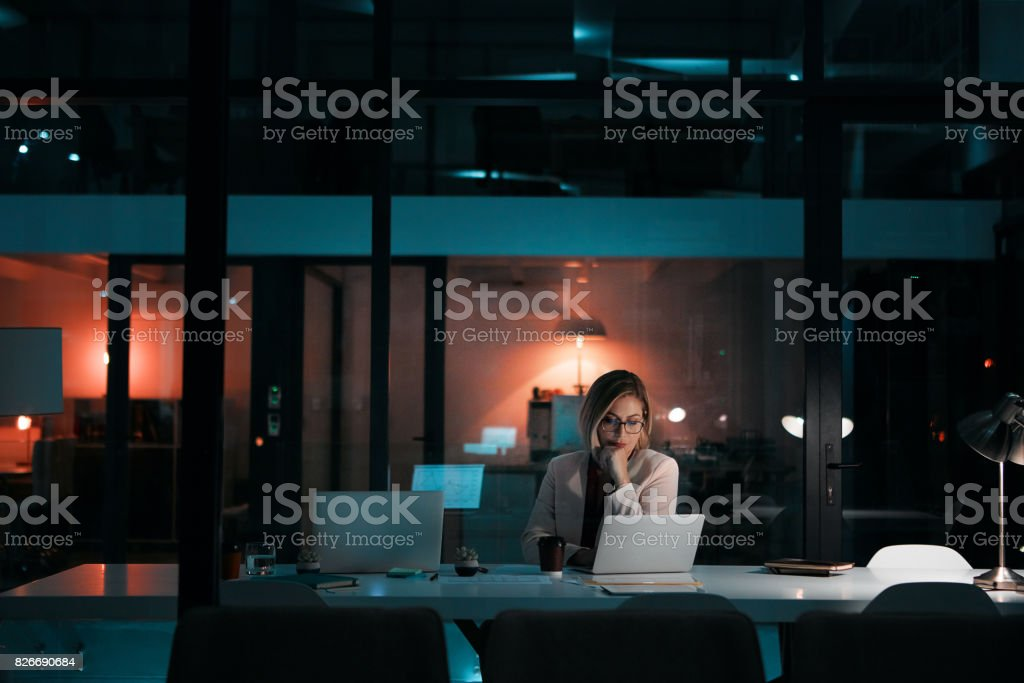 Dedication is a requirement for success stock photo