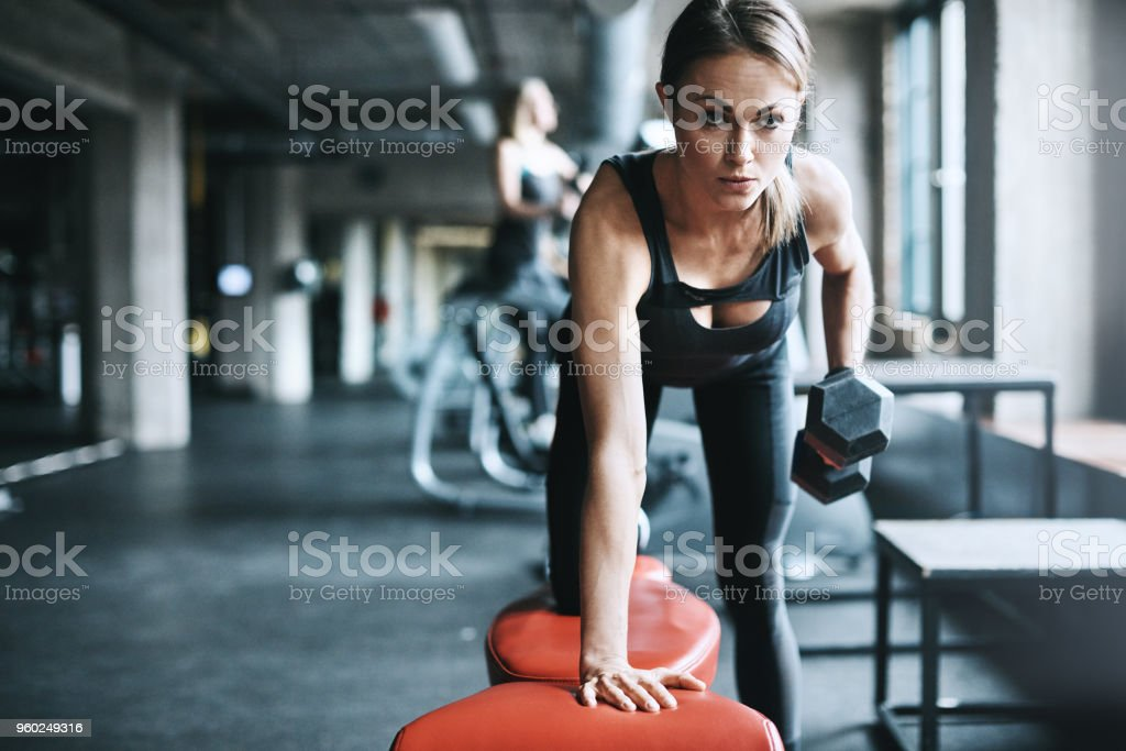 Dedication makes all the difference stock photo