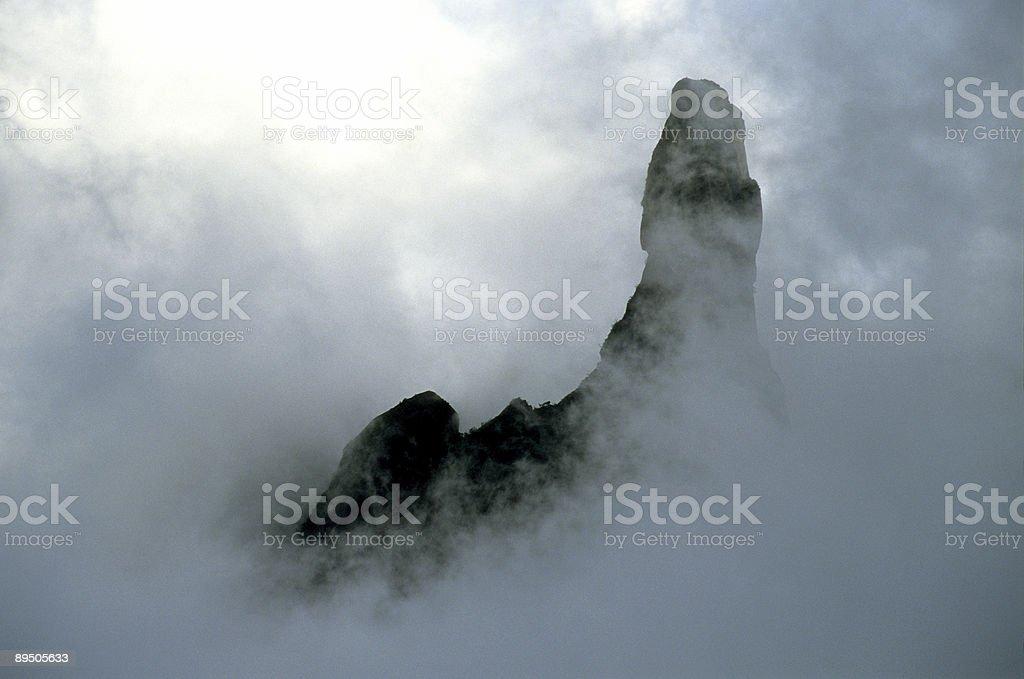 Dedo de Deus mountain in Teresopolis royalty-free stock photo