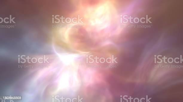 Photo of Deep Abstract Ethereal Heavenly Nebula Background Wallpaper