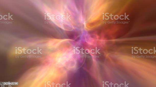 Photo of Deep Abstract Ethereal Heavenly Saturated Magenta and Amber Background Wallpaper