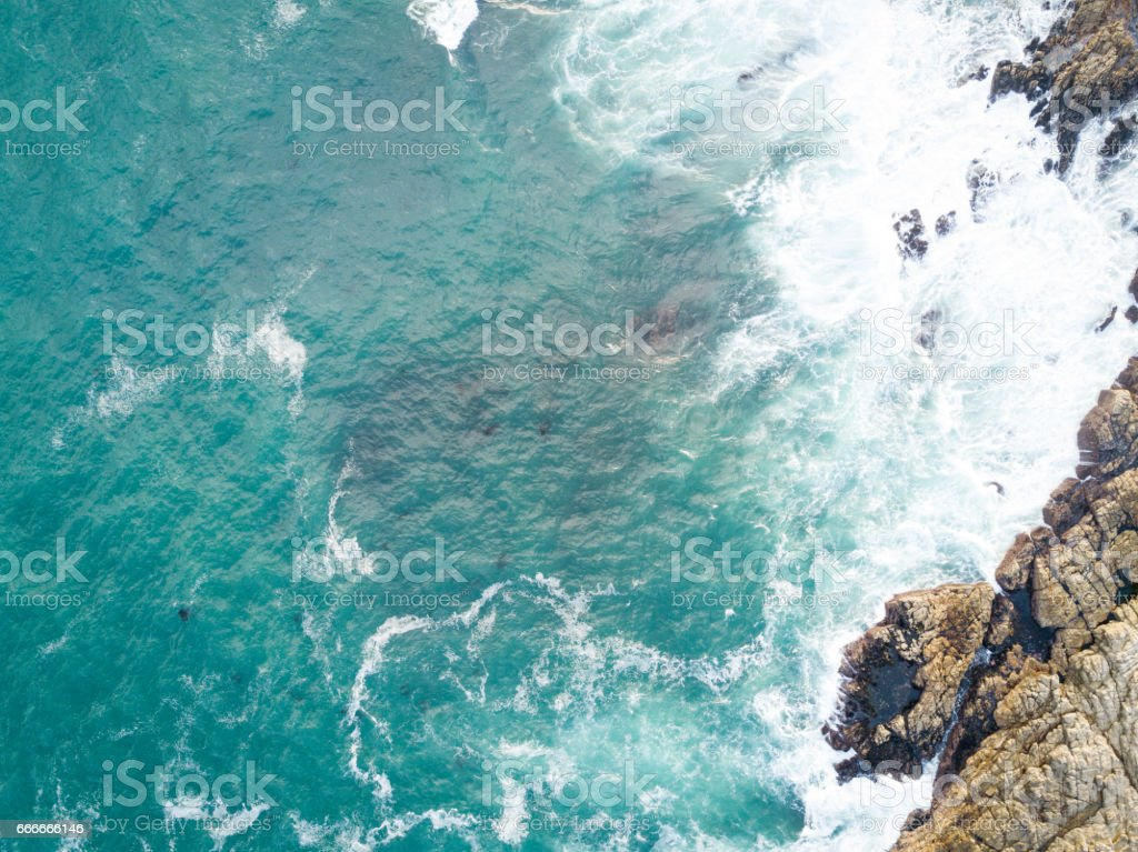Deep blue Indian Ocean stock photo