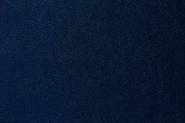 deep blue leather texture background - navy stock photos and pictures