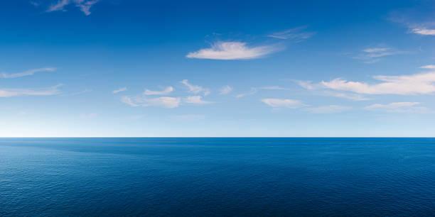 푸른 바다 전경 - 바다 뉴스 사진 이미지
