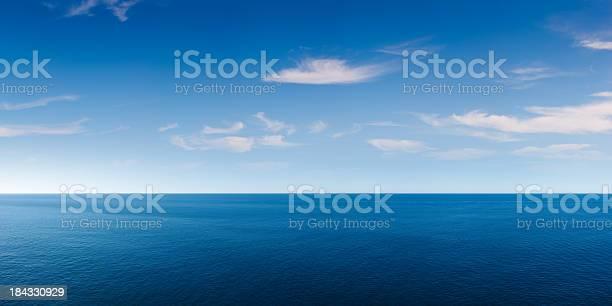 Photo of Deep Blue Ocean Panorama