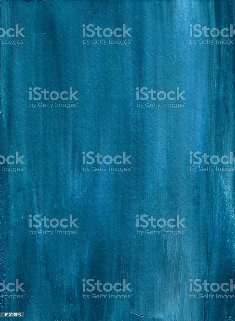 Deep Blue Painted Background royalty-free stock photo