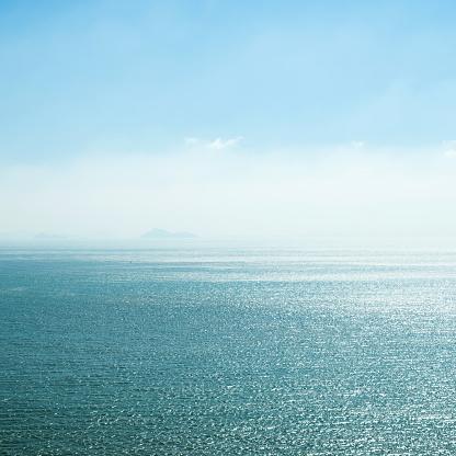 istock Deep blue sea and sky 803213050