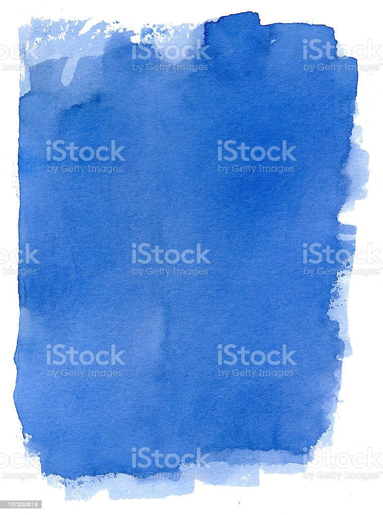 Deep Blue Sea Frame Vol I royalty-free stock photo