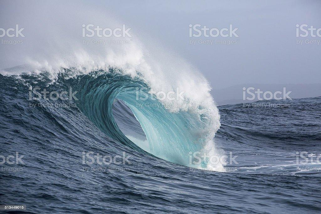 Deep blue sea stock photo