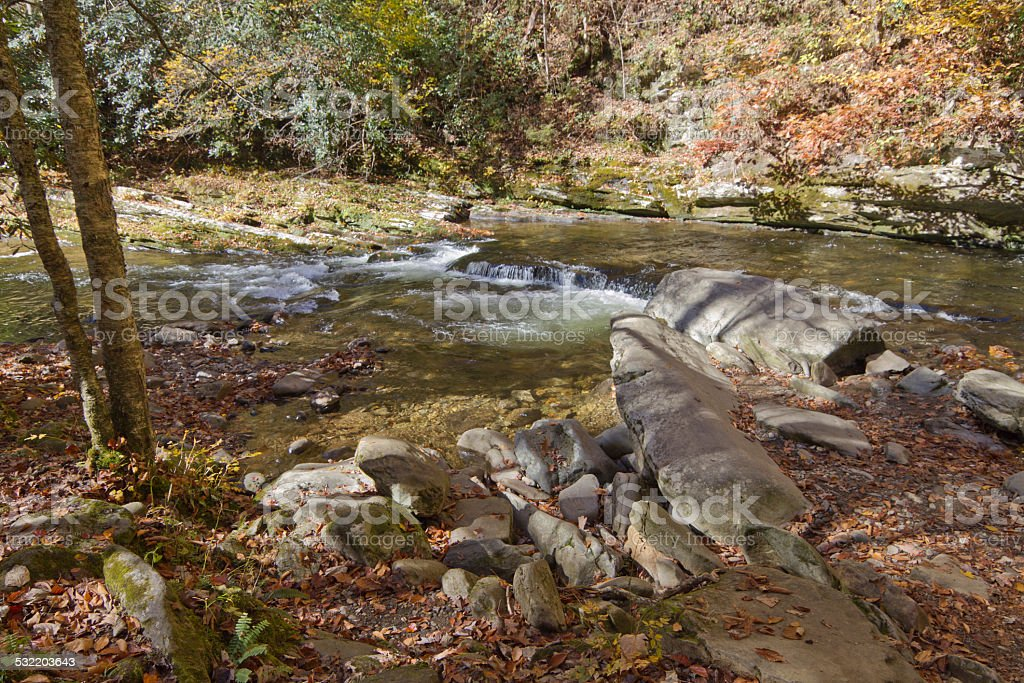 Deep Creek stock photo