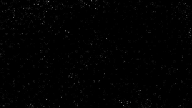 diepe donkere hemelsterren van de nacht - depth vector stockfoto's en -beelden