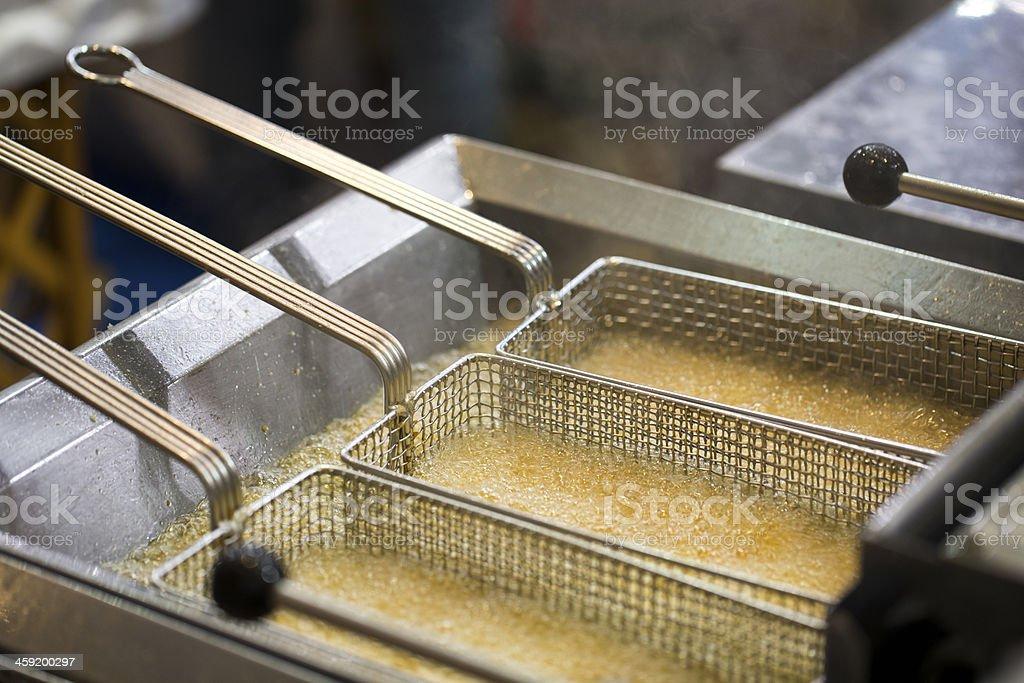 Deep Fat Fryer stock photo
