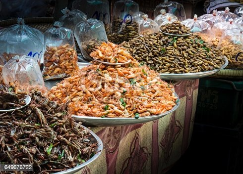 istock Deep Fired Insects Street Food 649676722