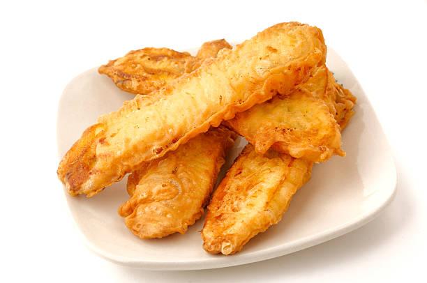 Bolinhos de Banana fritos - foto de acervo