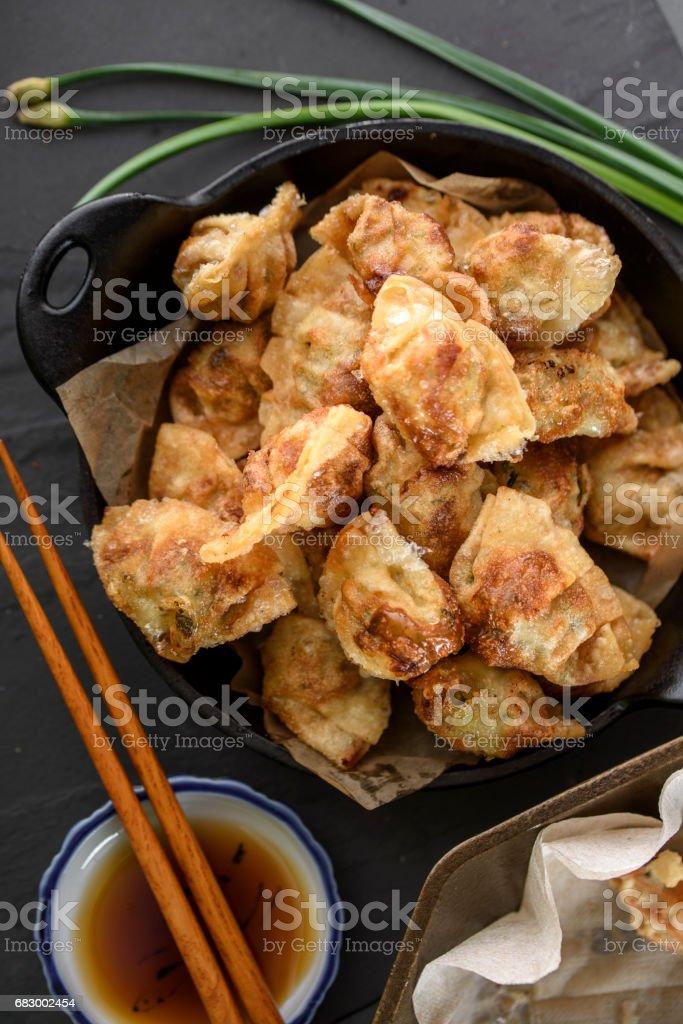 Deep Fried Dumplings foto de stock royalty-free