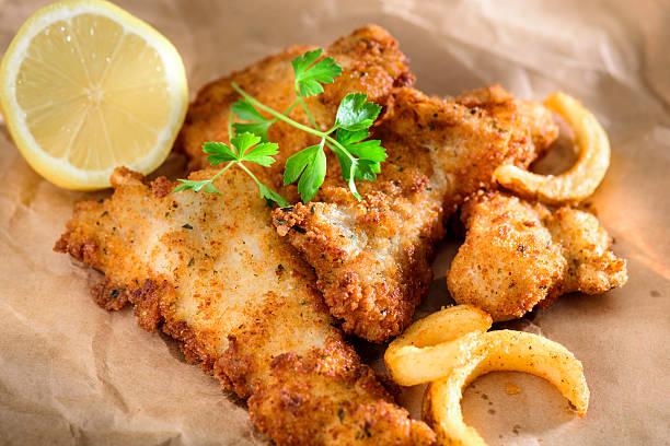 peixe frito - frito - fotografias e filmes do acervo