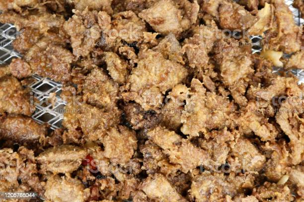 Deep fried pork liver with breading sold at a street food stall picture id1205768044?b=1&k=6&m=1205768044&s=612x612&h=tu6v2 oew8vnbylyh0sleueqgmnrgjlbcd7wgexve y=