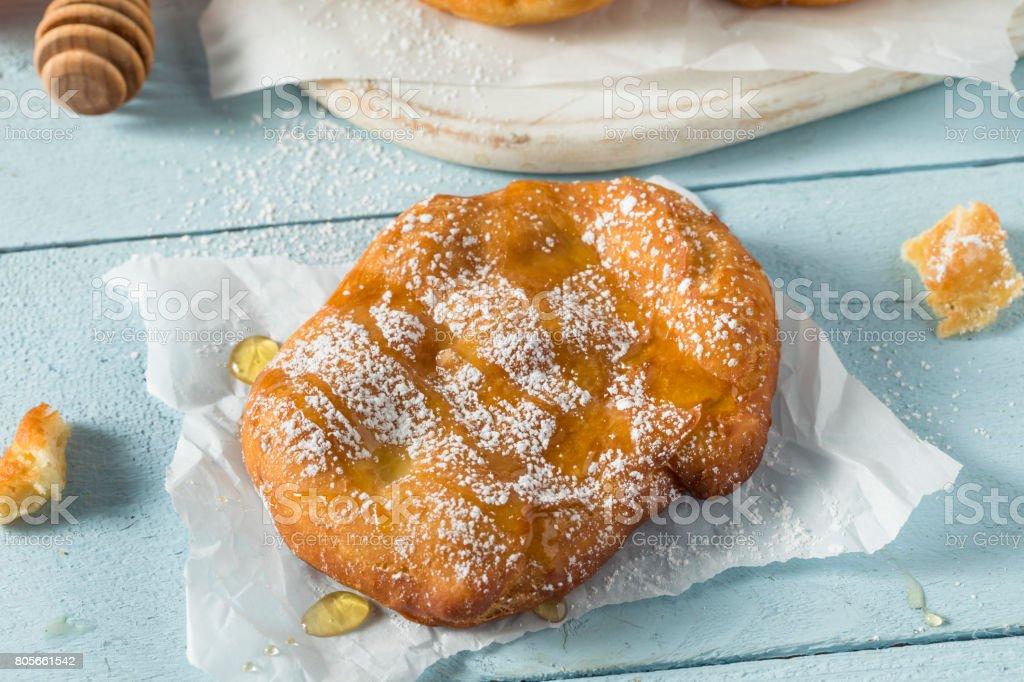 Deep Fried Utah Scones Bread stock photo