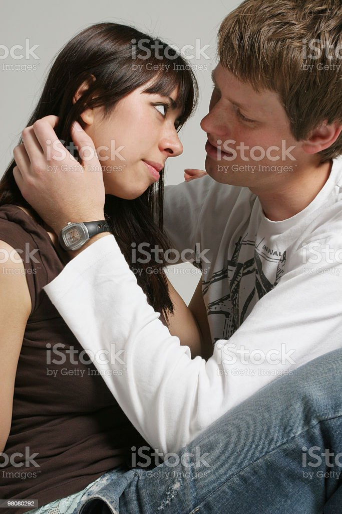 Deep in love royalty-free stock photo