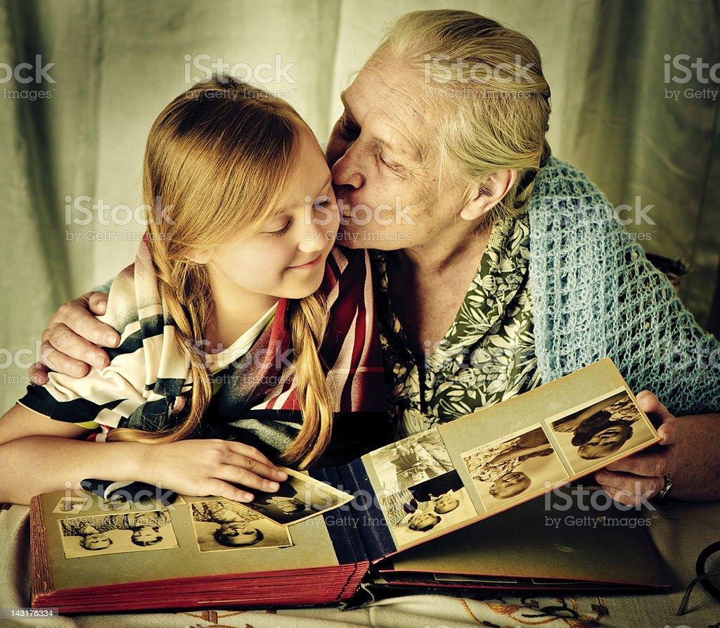 Deep in memories royalty-free stock photo