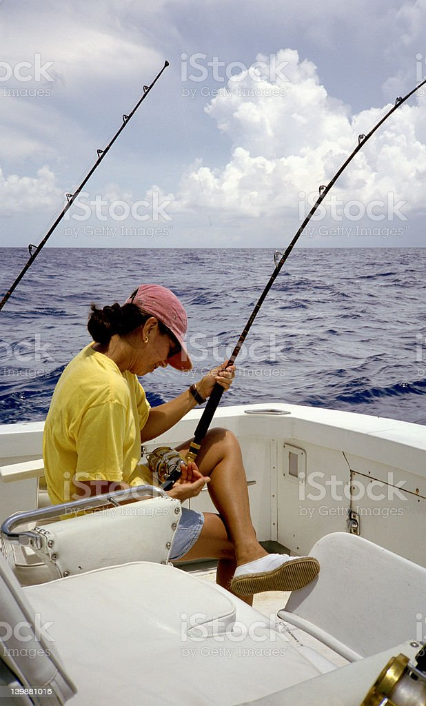 Deep Sea Angler stock photo