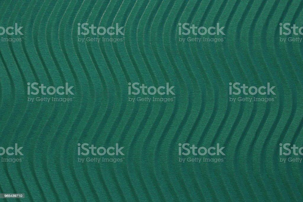 Deep Sea papier bleu Texture de vagues verticales. Vagues en relief sur fond de papier détaillée. Carton ondulé décor en carton ondulé. - Photo de Abstrait libre de droits