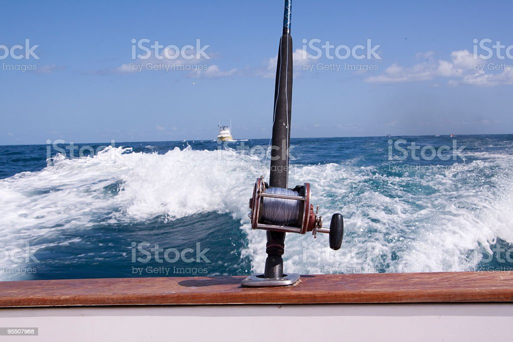 Deep Sea Charter Fishing royalty-free stock photo