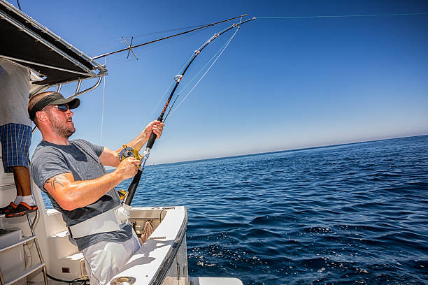 deep sea fisherman - fishing industry stock pictures, royalty-free photos & images