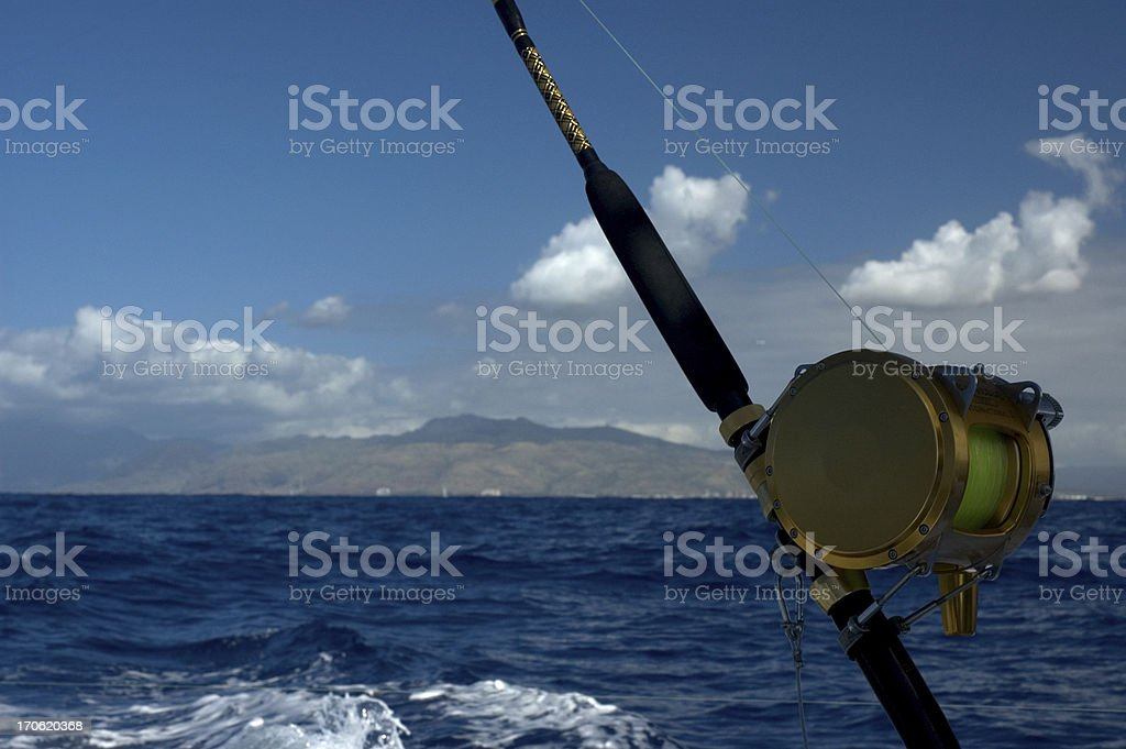 Deep Sea Fishing royalty-free stock photo