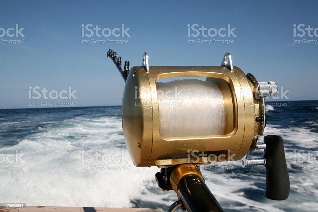 Deep Sea Fishing royalty-free stock photo